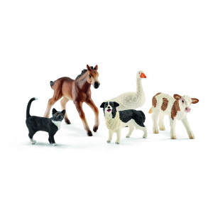SCHLEICH set nekoliko životinja sa farme 42386