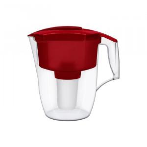 AKVAFOR Bokal za filtriranje vode GARRY crveni