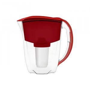 AKVAFOR Bokal za filtriranje vode GRATIS crveni