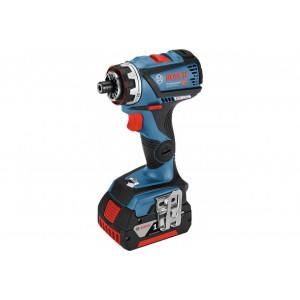 BOSCH akumulatorska bušilica/odvrtač sa izmenljivim glavama GSR 18V-60 FC Set 06019G7100