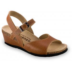 GRUBIN ženske sandale  2313610 HALDEJA Braon