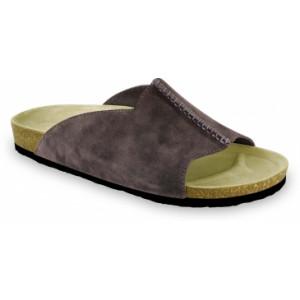 GRUBIN muške papuče 1424050 LORENZO Braon 40