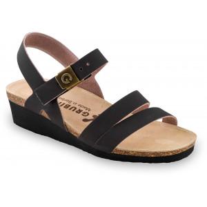 GRUBIN ženske sandale 1263650 LUCCA Braon