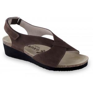 GRUBIN ženske sandale 2763611 MUSCAT Braon
