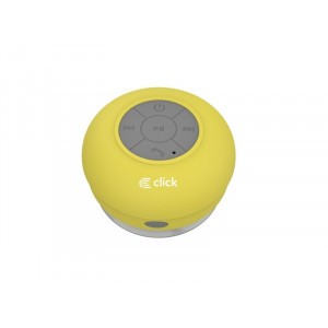 CLICK BS-R-WS Zvučnik bluetooth Waterproof Shower, žuti BSRWSY
