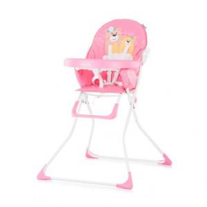 CHIPOLINO Stolica za hranjenje TEDDY pink 710061