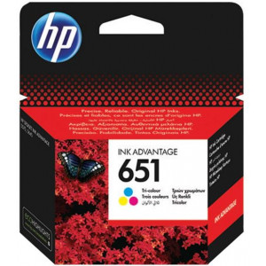 HP ketridž 651 Tri-color Ink Advantage C2P11AE