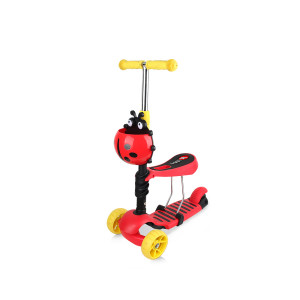Chipolino Trotinet Kiddy EVO Red/Black 710352