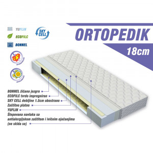 LUKA dušek ortopedik 120x60cm ort - Luka line