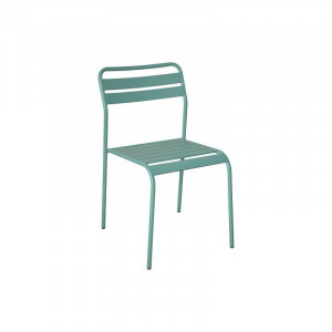 Cadiz metalna stolica - plava 055673
