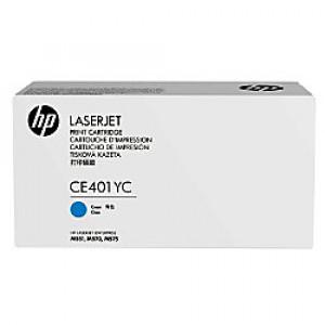 HP toner Contractual Cyan Optimized  LaserJet Cartridge CE401YC