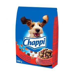CHAPPI hrana za pse, govedina i živina 500g 520164