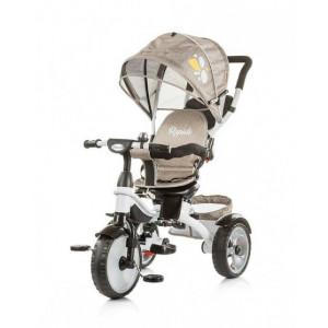 CHIPOLINO Tricikl sa ručkom rapido ash frappe 710049