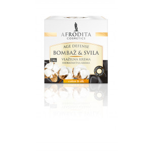 AFRODITA vlažna krema COTTON & SILK 50ml
