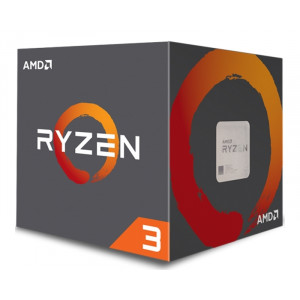 AMD ryzen 3 1200 4 cores 3.1ghz (3.4ghz) box cpu00771
