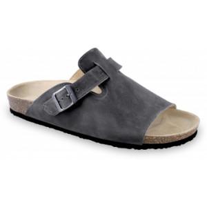 GRUBIN muške papuče 1044010-SYDNEY, Crne 40