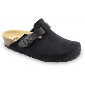 GRUBIN ženske papuče tople 53560 RIM Crne