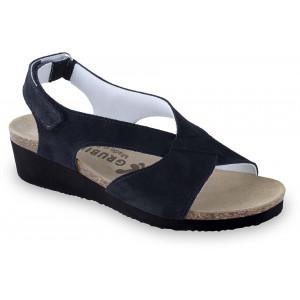 GRUBIN ženske sandale 2763611 MUSCAT Crne