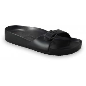 GRUBIN ženske papuče 3043700 MADRID LIGHT Crne
