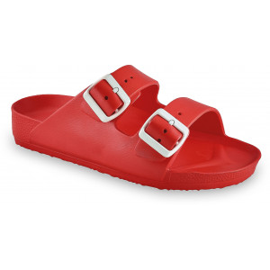 GRUBIN ženske papuče 3233700 KAIRO LIGHT Crvene