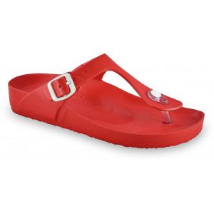 GRUBIN ženske papuče 3933700 TAKOMA LIGHT Crvene