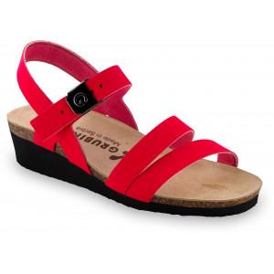 GRUBIN ženske sandale 1263650 LUCCA Crvene