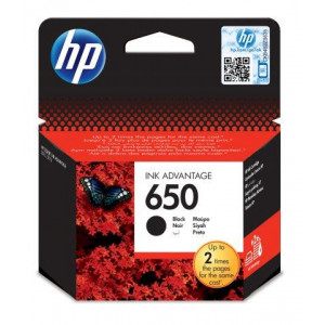 HP 650 crni ink kertridž CZ101AE