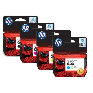 HP ketridž 655 Cyan Ink Cartr HP Deskjet Ink Advantage 3525, 4615, 4625, 5525, 6525 e-All-in-One CZ110AE