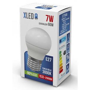 XLED LED Sijalica E27 7W