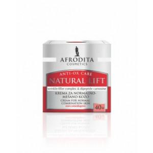 AFRODITA 24h krema od normalne do masne kože NATURAL LIFT 50 ml