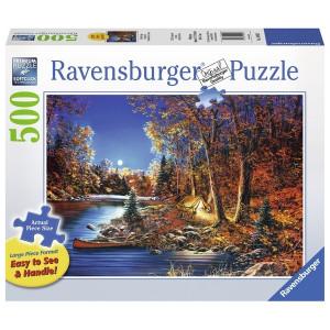 RAVENSBURGER puzzle (slagalice)- noć u šatoru RA14916