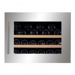 DUNAVOX Potpuno ugradna vinska vitrina DAVS-18.46SS