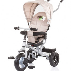 CHIPOLINO Tricikl sa rotirajucim sedištem max ride beige 710041