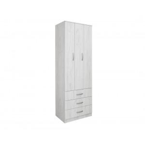 MATIS Garderober FORTUNA SOFT F75 - Snežni Hrast 304546