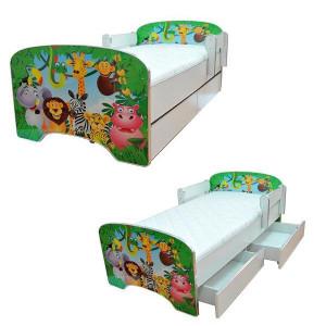 ARISTOM dečiji krevet sa fiokama 803 green jungle