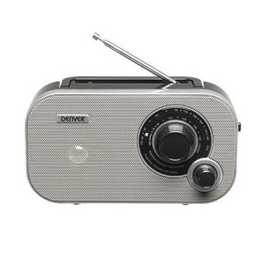 DENVER radio aparat TR-54 sivi