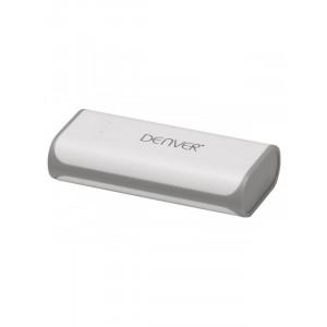 DENVER eksterna baterija PBA-4001 4000 mAh 1 x Micro USB 1 x USB A Li-Ion bela/siva
