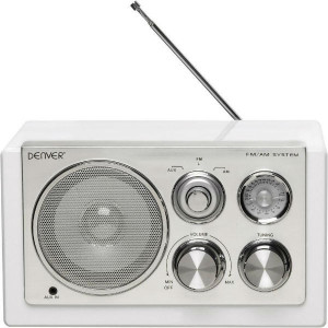 DENVER FM radio TR-61 BELI