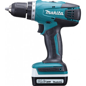 MAKITA akumulatorska BUSILICA-ODVRTAC Li Jon 1,3Ah;14.4V;30Nm; futer 10mm DF347DWE