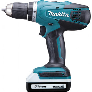 MAKITA akumulatorska BUSILICA-ODVTAC 18V,1.3AH,42Nm, futer 13mm DF457DWE