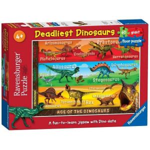 RAVENSBURGER puzzle (slagalice) - Dinosaurusi 2 RA05393