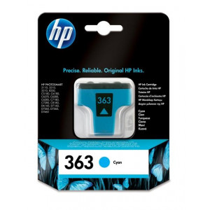 HP No.363 Yellow Ink Cartridge (Photo Smart 8250/3210/3310) C8773EE