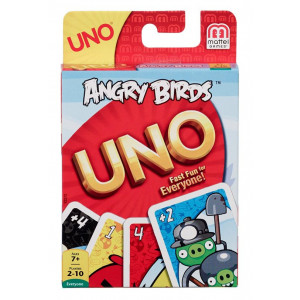 MATTEL uno karte- angry birds MAY2372
