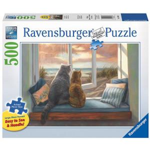 RAVENSBURGER puzzle (slagalice)- pogled sa prozora RA14903