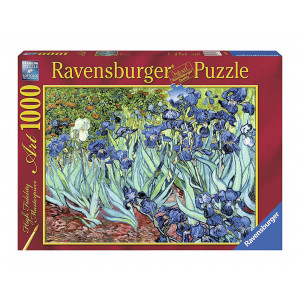 "RAVENSBURGER puzzle (slagalice) - Van Gog ""Irisi"" RA15613"