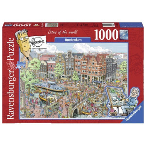 RAVENSBURGER Ravensburger puzzle (slagalice) - Amsterdam RA19924