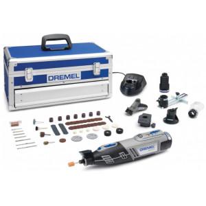 DREMEL akumulatorski višenamenski alat sa 65 komada dodatnog pribora 0Ah Li-Ion 8220 5/65 2x2