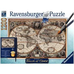 RAVENSBURGER Ravensburger puzzle (slagalice) - Antička mapa sveta RA19931