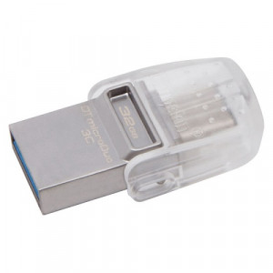 KINGSTON usb 32GB DT MicroDuo USB 3.1 DTDUO3C/32GB metal-bela