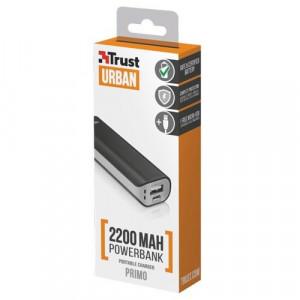 TRUST Primo PowerBank 2200 prenosivi punjac crni 21221